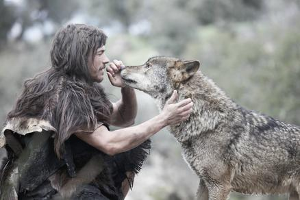 Man and Wolf