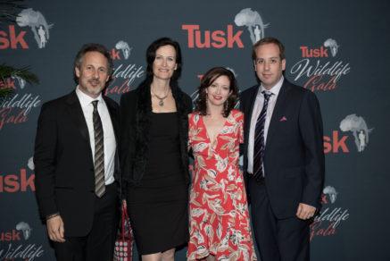 TMFS_Tusk Wildlife Gala 2017_DSC_9522 Richard Ladkani, Anita Ladkani, Kathleen Davidson, Kief Davidson